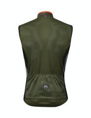 Santini Fine FZ Vest - Green