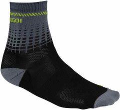 Sugoi RS 1/4 Socks - Black/Green