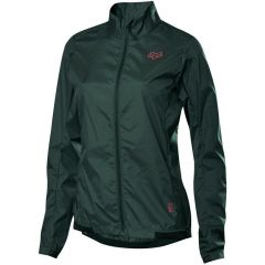 Fox Defend Wind Womens Jacket - Dark Green