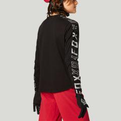 Fox Youth Ranger DR Long Sleeve Jersey 2021 - Black