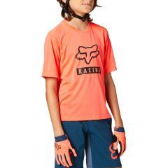 Fox Youth Ranger Short Sleeve Jersey 2021 - Atomic Punch
