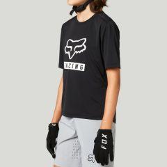 Fox Youth Ranger Short Sleeve Jersey 2021 - Black
