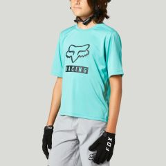 Fox Youth Ranger Short Sleeve Jersey 2021 - Teal
