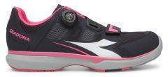 Diadora Gym Womens Shoes -Black/Pink  40