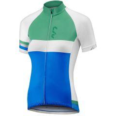 Liv Capitana Jersey [Colour: Blue/Green] [Size: S]