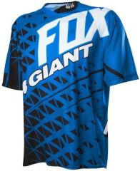 Fox Giant Demo Jersey [Colour: Black/Blue] [Size: L