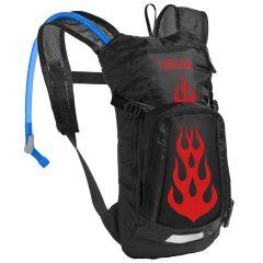 Camelbak Mini Mule 1.5L Kids Hydration Pack - Black Flames