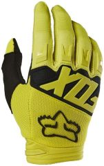 Fox Dirtpaw Race Gloves 2018 -Yellow  S