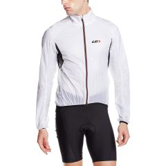 Louis Garneau X-Lite Jacket [White/Black] [Size: L]
