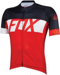 Fox Ascent Short Sleeve Jersey 2016 -Red  L