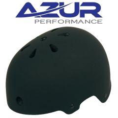 Azur U80 BMX Helmet - Matte Black- Small