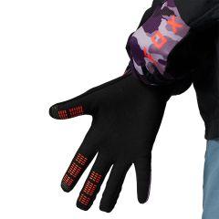 Fox Womens Ranger Gloves 2021 - Refuel Dark Purple Camo
