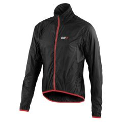 Louis Garneau X-Lite Jacket [Black/Red] [Size: L]