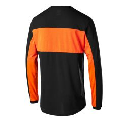 Fox Ranger Dri-Release Long Sleeve Jersey  - Black/Orange