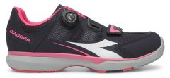 Diadora Gym Womens Shoes -Black/Pink  42