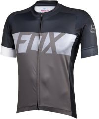 Fox Ascent Short Sleeve Jersey 2016 -CharcoaL   L