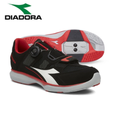 Diadora Gym/Spin Shoes Black/Red