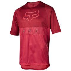 Fox Defend Moth Jersey - Cardinal Red