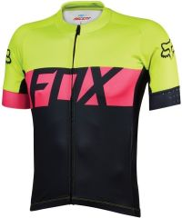 Fox Ascent Short Sleeve Jersey 2016 -Yellow  XL
