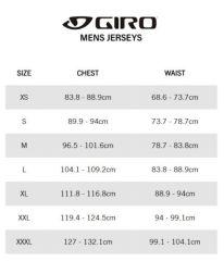 Giro Chrono Pro Jersey - White Cascade