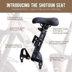 Shotgun MTB Front Child Seat