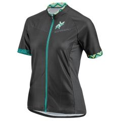 Louis Garneau Equipe GT Womens Jersey - Black/Green