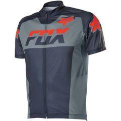 Fox Livewire Race Mako Short Sleeve Jersey - Grey