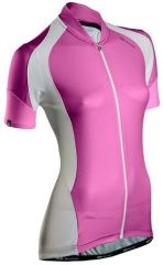Sugoi RPM Womens Short Sleeve Jersey -Pink  L