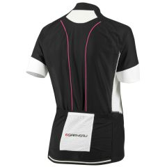 Louis Garneau Evans GT Womens Jersey - Black/Pink