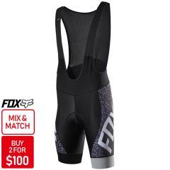 Fox Ascent Comp Bib Shorts [Colour: Charcoal] [Size