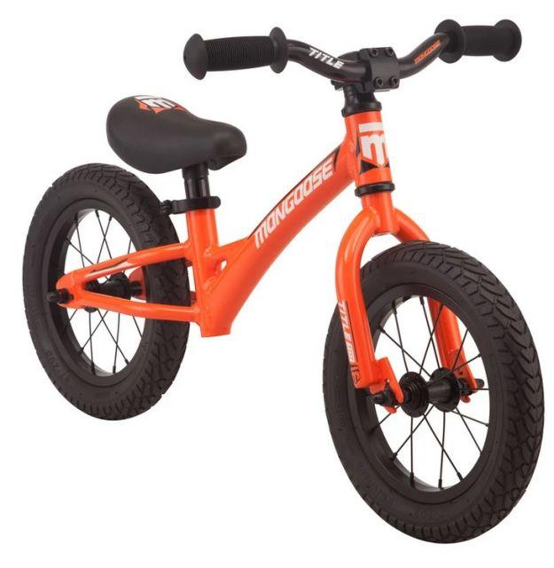 Mongoose Title Tot Balance Bike Orange