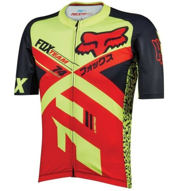Fox Ascent Pro Jersey - Yellow/Red
