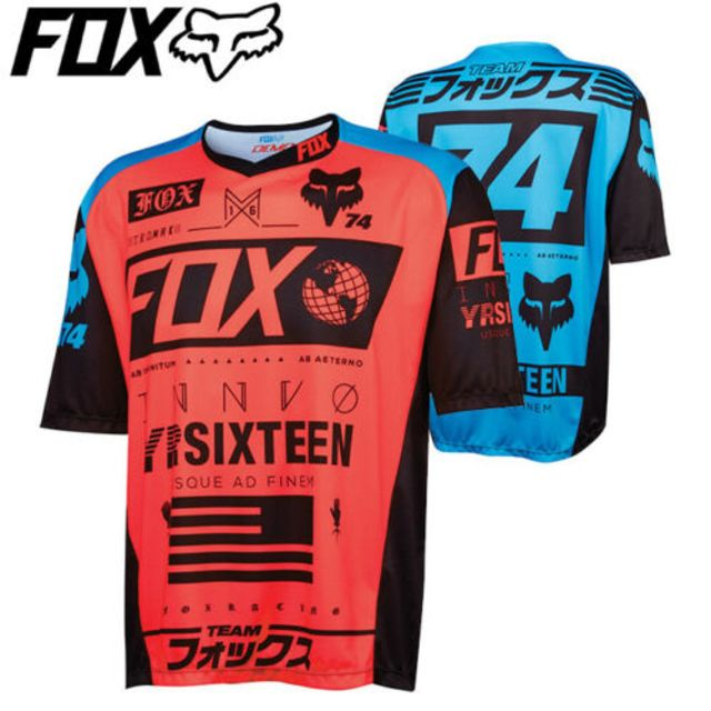 Fox Demo Union DH Shortsleeve Jersey 2016