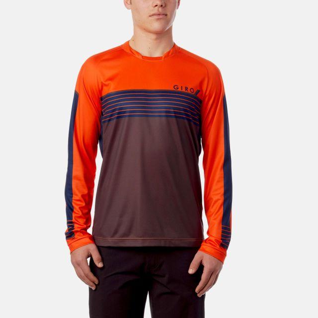 Giro Roust MTB Long Sleeve Jersey - Flame Orange