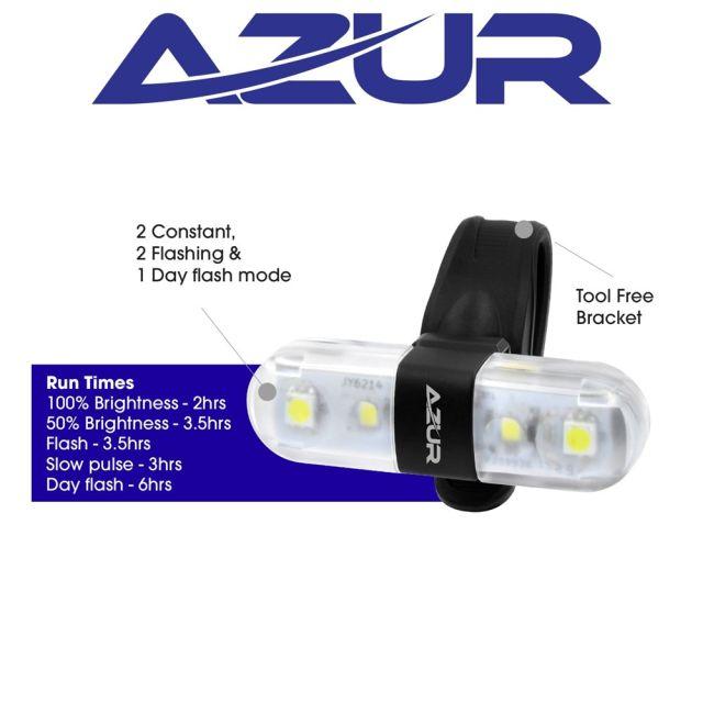 Azur Nano 60 USB Front Light (60 Lumens)