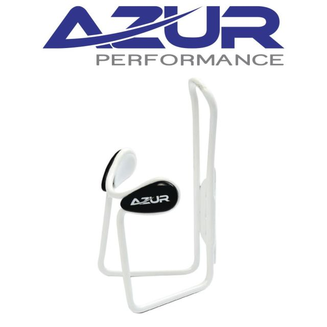Azur Deluxe Bottle Cage - White