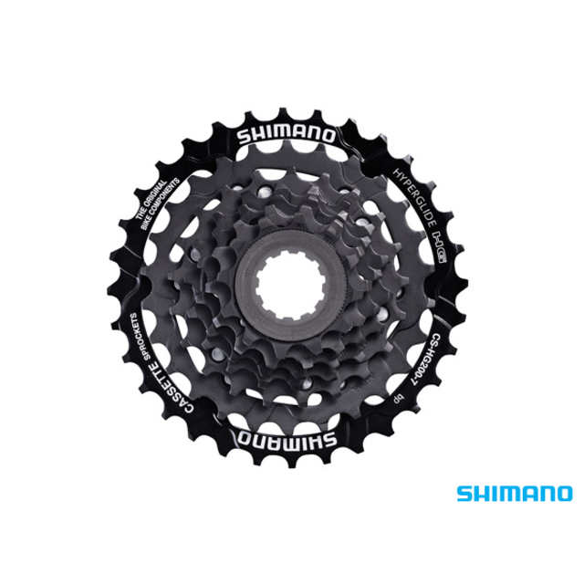 7-Speed Shimano HG-200 Tourney 12-32T Cassette