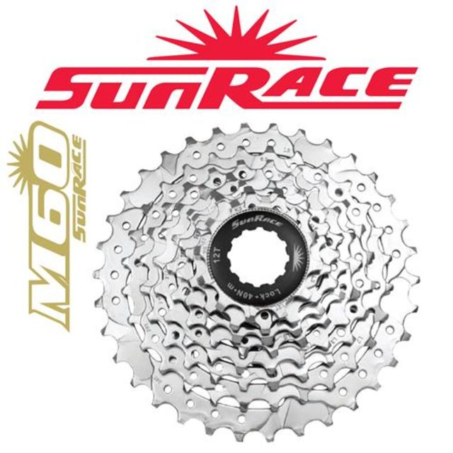 8-Speed Sunrace M668 11-34T Cassette