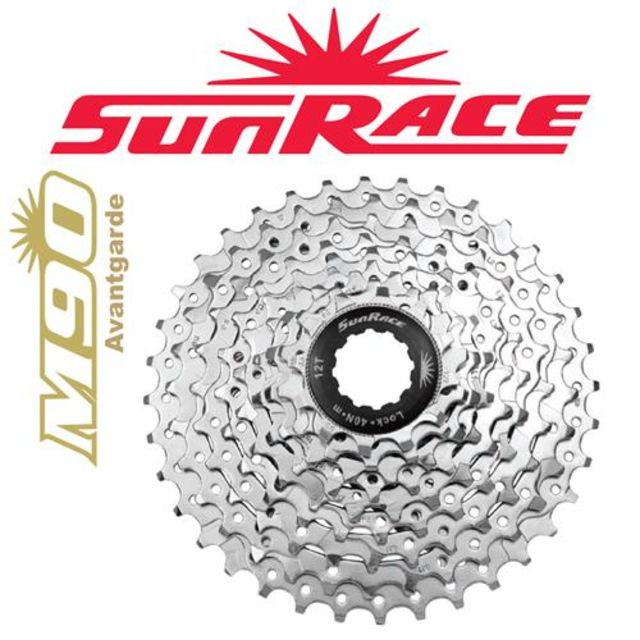 9-Speed Sunrace M969 11-34T Cassette