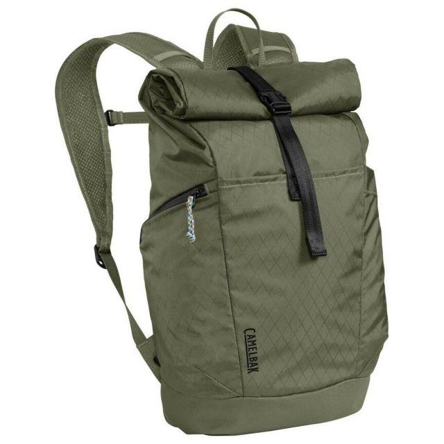 Camelbak Pivot Roll Top Back Pack - Olive Green
