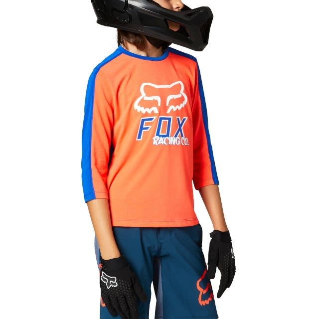 Fox Youth Ranger DriRelease 3/4 Jersey 2021 - Atomic Punch