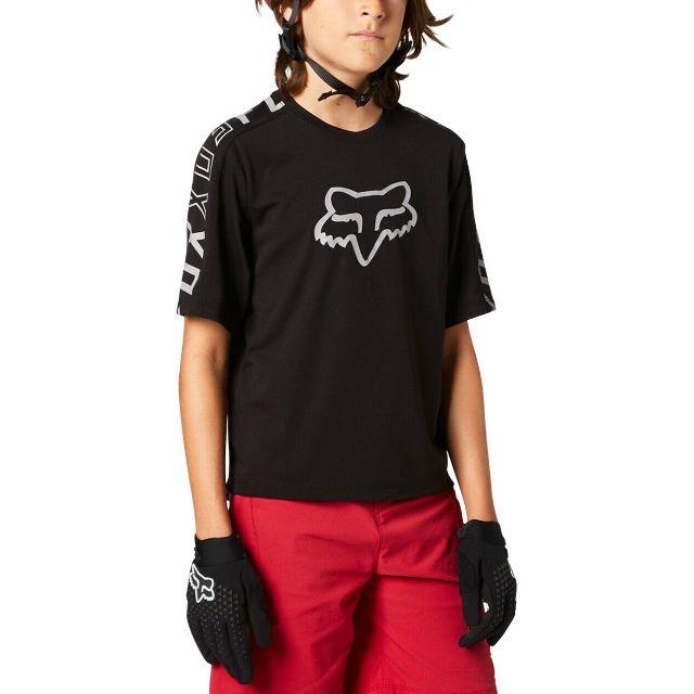 Fox Youth Ranger DriRelease Short Sleeve Jersey 2021 - Black