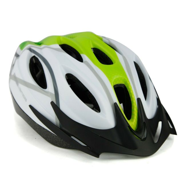 Netti Lightning Helmet – White/Green