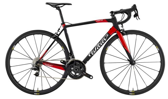 Wilier Zero 7 - Black/Red Large
