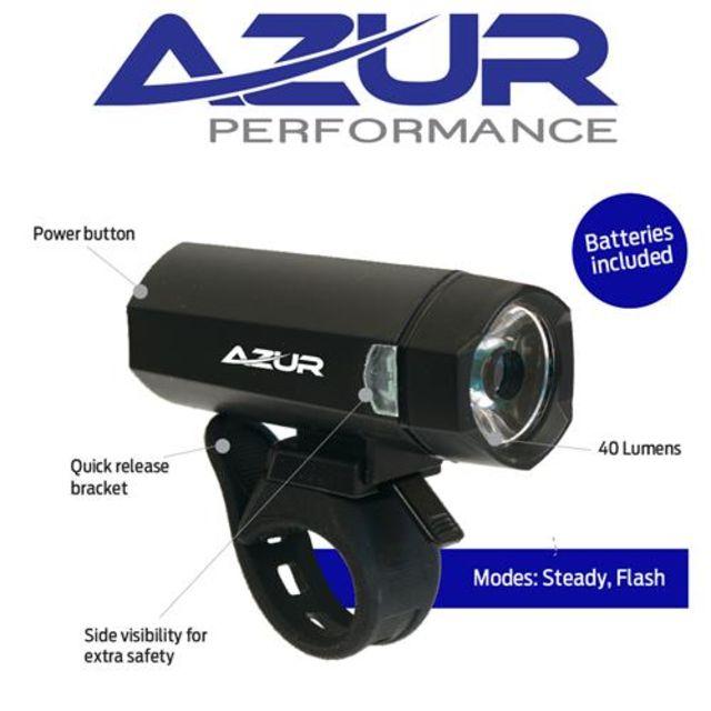 Azur Blaze Battery Front Light