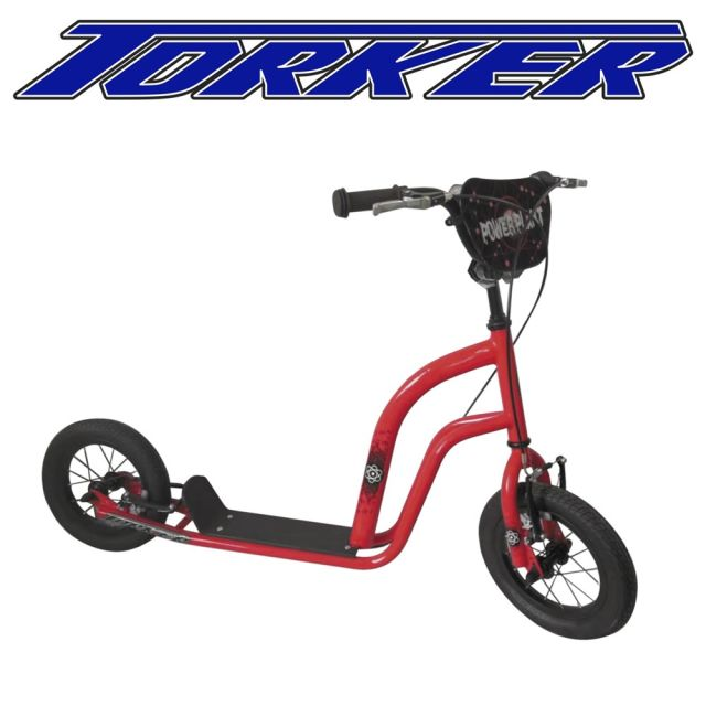 Inflatable tyre scooter for kids