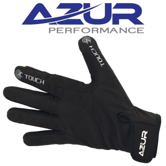 Azur L20 Full Finger Gloves -Black  2XL