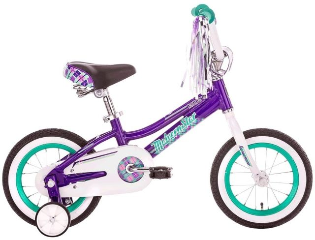 "12"" Malvern Star Cruisestar - Purple/Green"