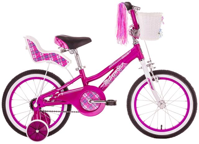 """16"""" Malvern Star Cruisestar Girls - Purple/White"""