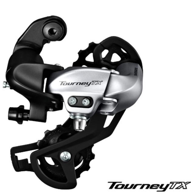 7/8s Shimano Tourney TX800D Rear Derailleur Silver-01